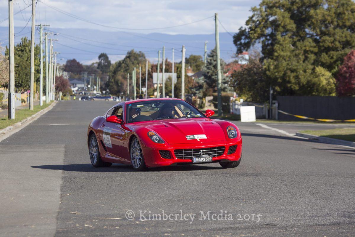 Targa Tasmania Longford section 2015