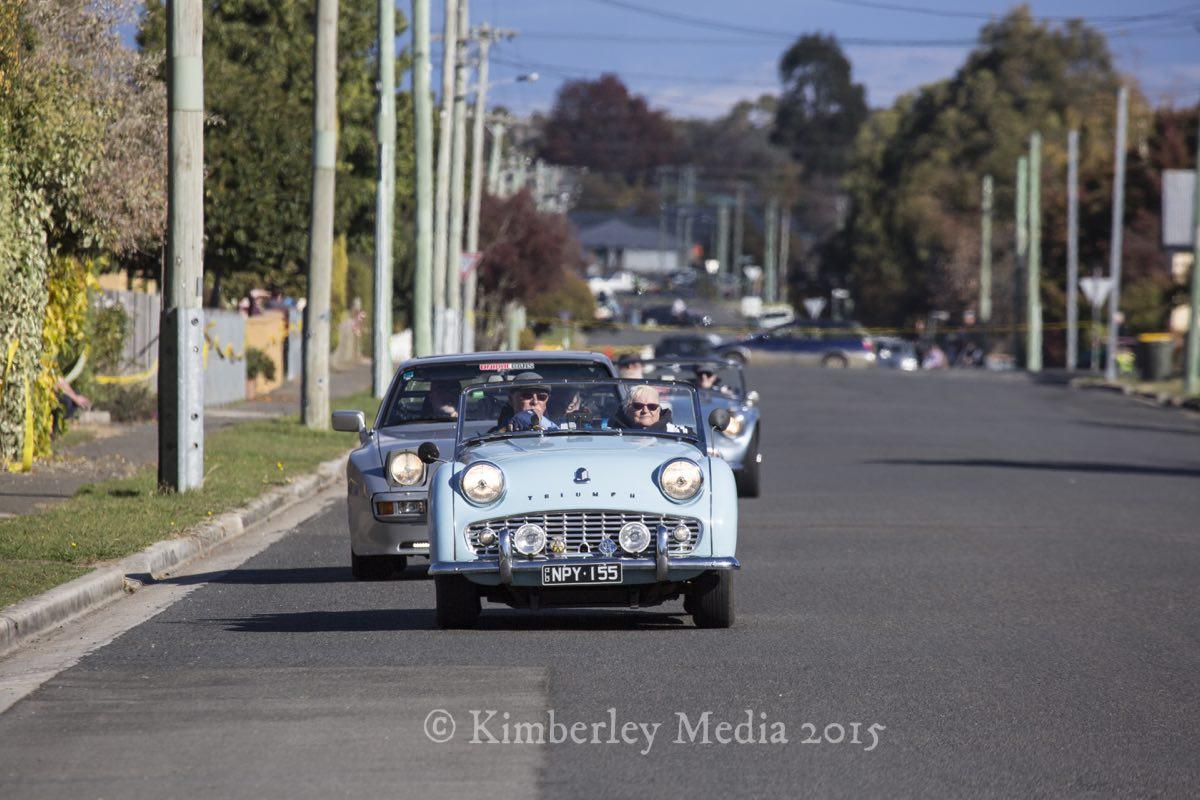 Targa Tasmania passed through Longford on day 3 of the internationally renowned motorsport event.